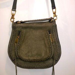 Rebecca Minkoff Faux Olive Green Crossbody Bag